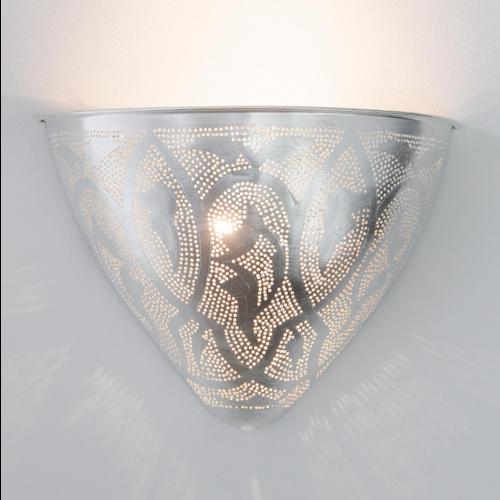 Wandlamp Wenet Leaves Zilver