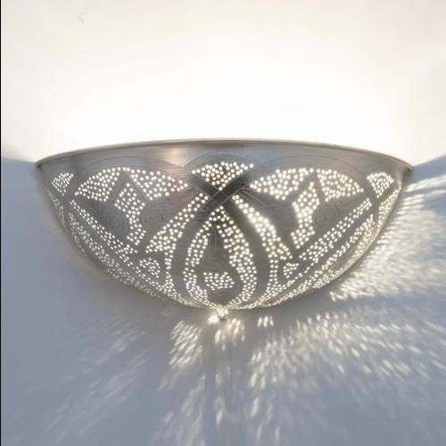 Wandlamp Chavi Leaves Zilver