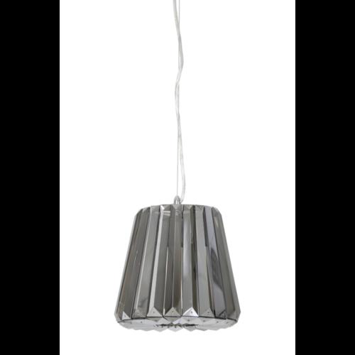 Hanglamp Caydence smoke glas in 3 maten