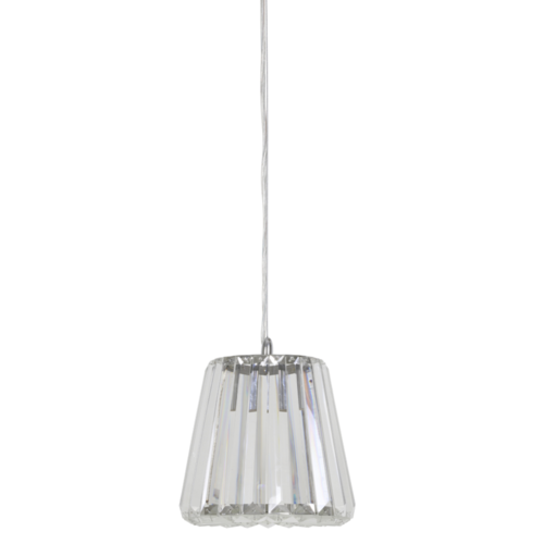 Hanglamp Caydence transparant glas in 3 maten