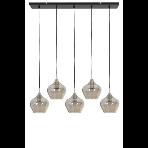 Hanglamp Chandler smoke glas in 2 maten