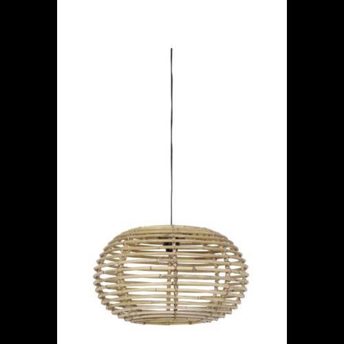 Hanglamp Lea Bamboe en Rotan in 3 maten