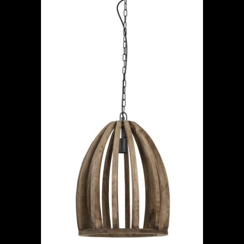 Hanglamp Laurel hout 2 maten