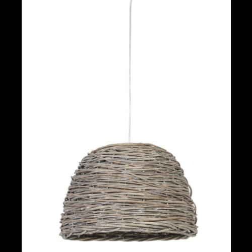 Hanglamp Lara naturel rotan in 2 maten