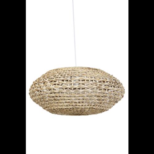 Hanglamp Lysse Naturel en Wit Rotan