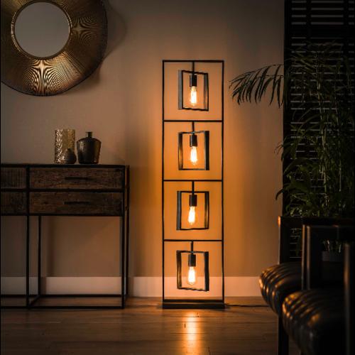 Vloerlamp Koba + 4 led lampen cadeau