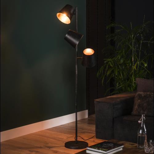 Vloerlamp Kayli + 3 led lampen cadeau