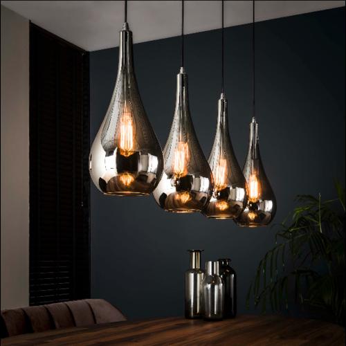 Hanglamp Selena + 4 led lampen cadeau