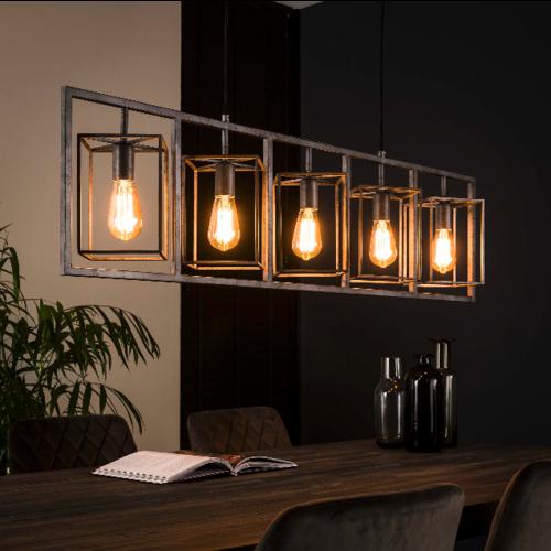 Hanglamp Bennet + 5 led lampen cadeau