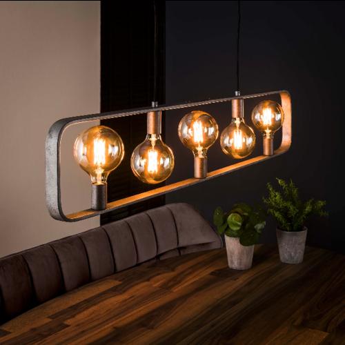 Hanglamp Tohm + 5 led lampen cadeau