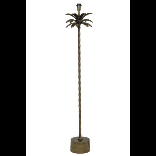 Vloerlamp Oaklee palmboom antiek brons metaal