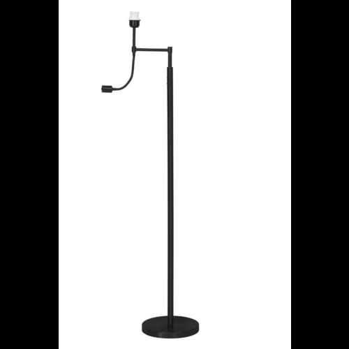 Vloerlamp Oliver mat zwart met flexi ledlamp