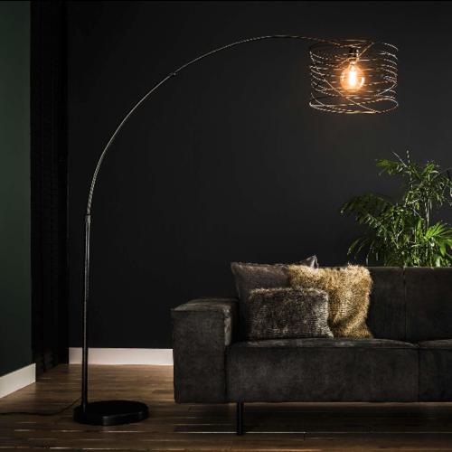 Vloerlamp Schmidt + 1 led lamp cadeau