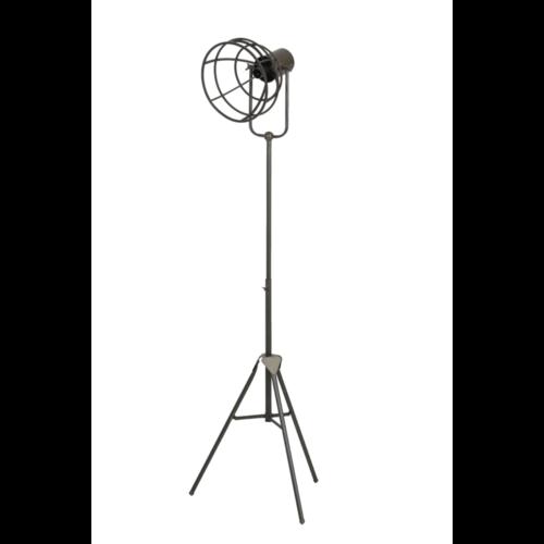 Vloerlamp Odette donker brons