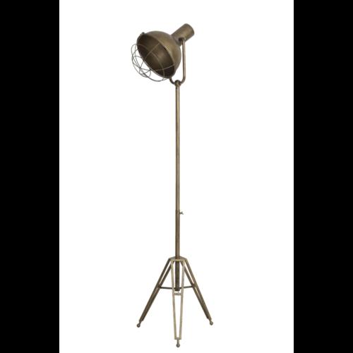 Vloerlamp Oksana brons