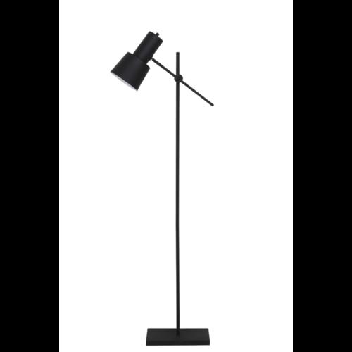 Vloerlamp Omri mat zwart metaal