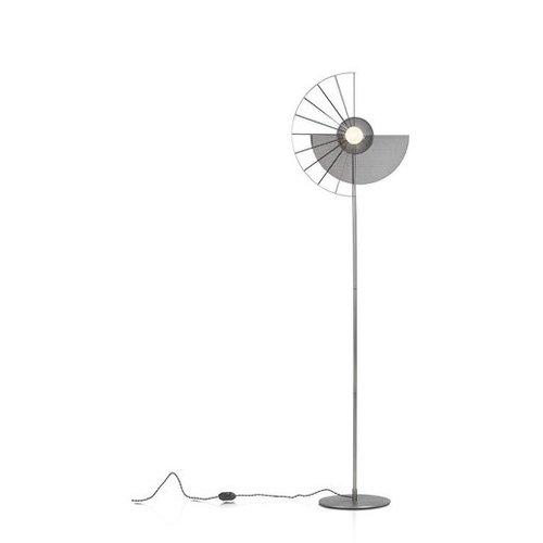 Vloerlamp Crawford + 1 led lamp cadeau