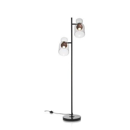Vloerlamp Skylar + 2 led lampen cadeau