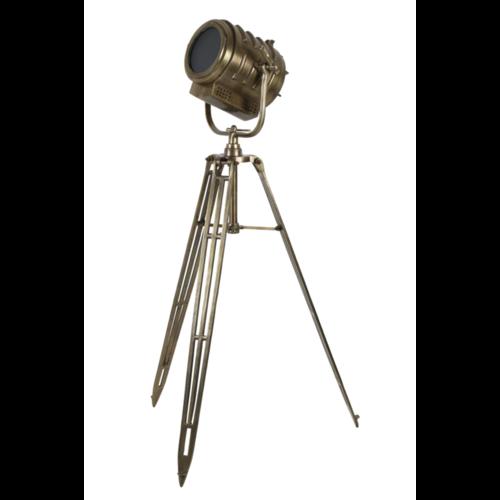 Vloerlamp Oberon antiek brons