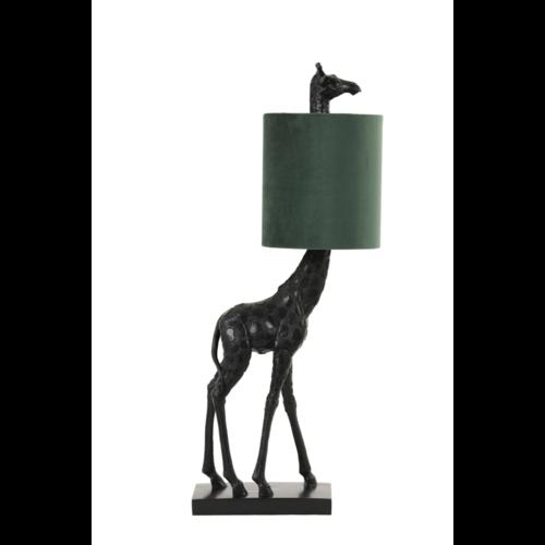 Tafellamp Girella zwart en groen in 2 maten