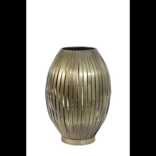 Tafellamp omari antiek brons in 2 maten