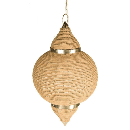 Oriëntaalse hanglamp Yousra touw