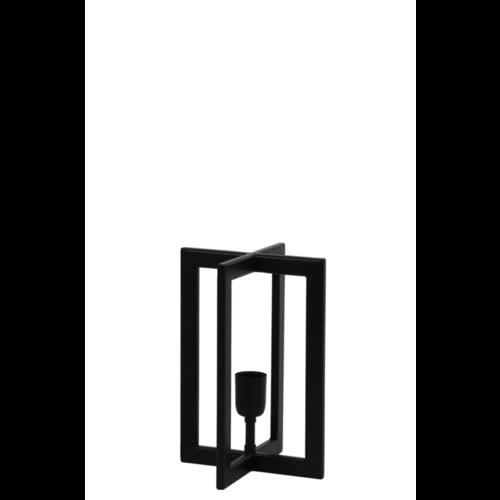 Tafellamp Omaria mat zwart in 2 maten