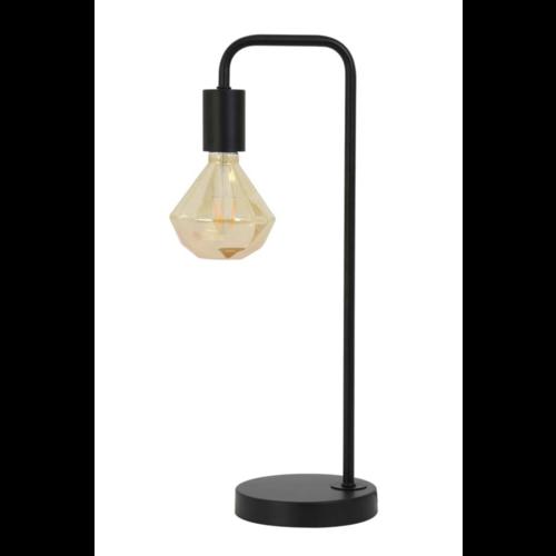 Tafellamp Ori mat zwart metaal inclusief ledlamp