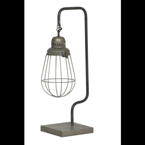 Tafellamp Erva antiek zilver