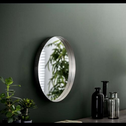 Spiegel Terrence antiek nikkel in 2 afmetingen