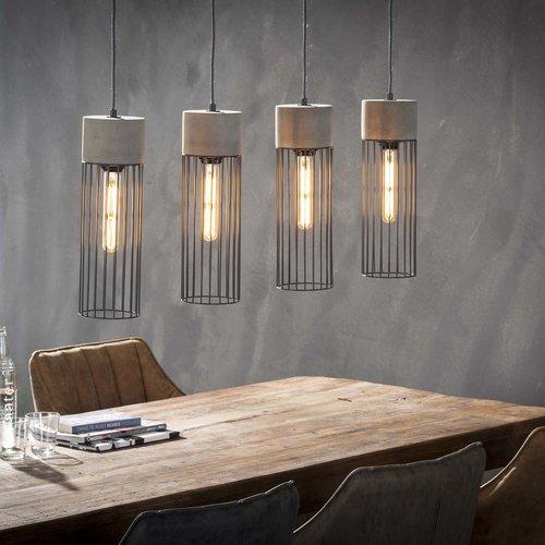 Hanglamp Conny + 4 led lampen cadeau
