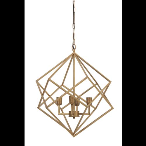 Hanglamp Frady goudkleur