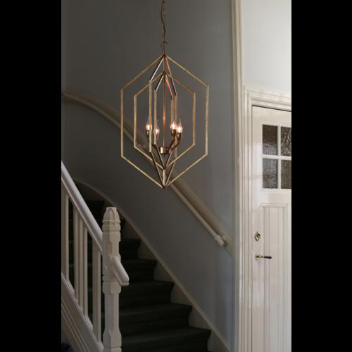 Hanglamp Fradel goudkleur