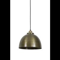 Hanglamp Fable ruw oud brons in 3 maten