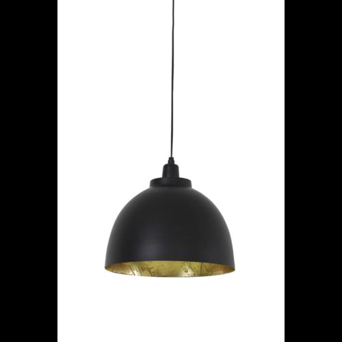 Hanglamp Fable zwart en goud in 3 maten