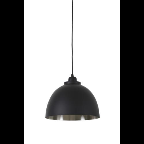 Hanglamp Fable zwart en nikkel in 2 maten