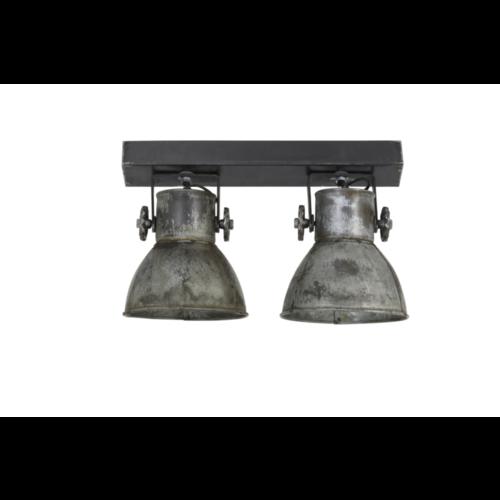 Hanglamp Fionna vintage zilver in 2 maten