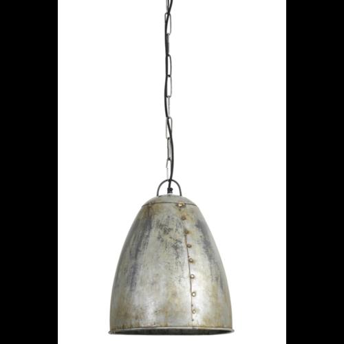 Hanglamp Felix vintage zilver in 2 maten