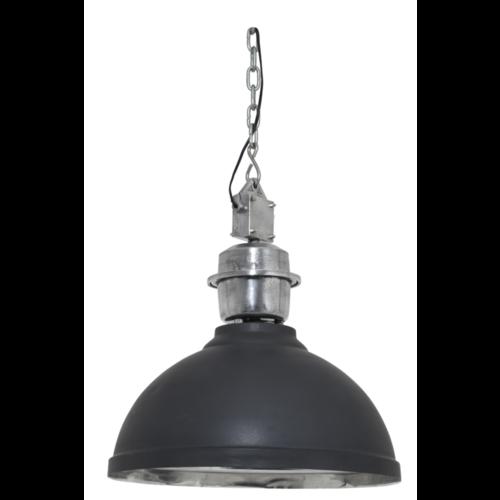 Hanglamp Gracyn antraciet metaal