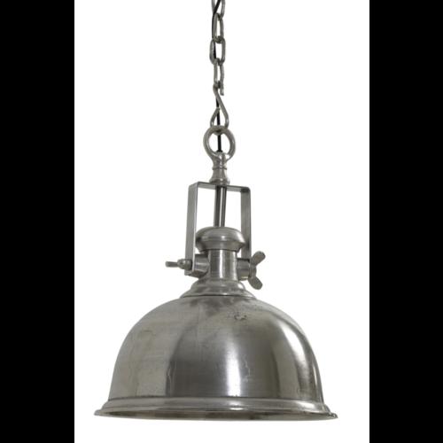 Hanglamp Greer ruw nikkel