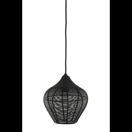 Hanglamp Gigi mat zwart in 3 maten
