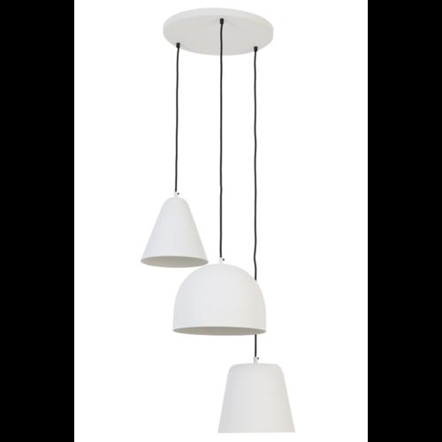 Hanglamp Gala mat wit 3L
