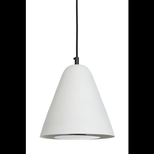 Hanglamp Giselle mat wit