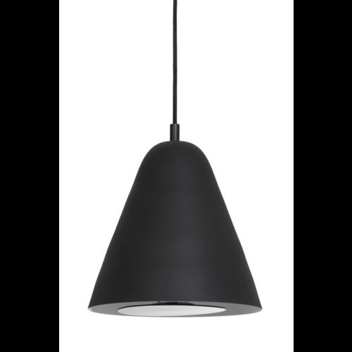 Hanglamp Giselle mat zwart