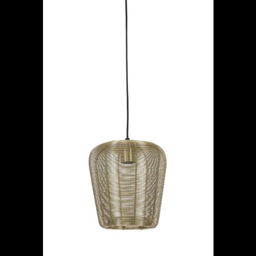 Hanglamp Opal goud in 3 maten