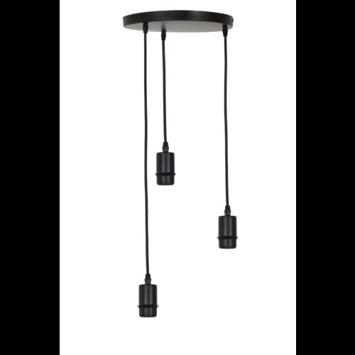 Hanglamp Gammy mat zwart 3L