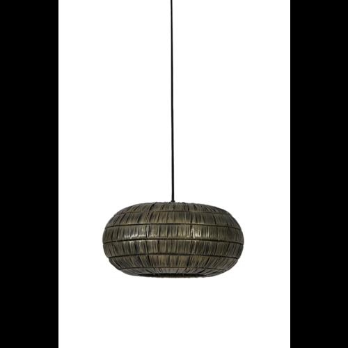 Hanglamp Geneva antiek brons in 3 maten