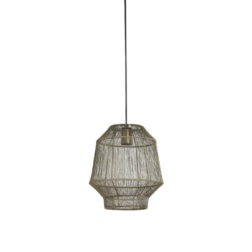 Hanglamp Ellison antiek brons in 3 maten