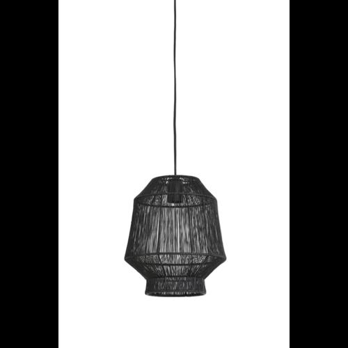 Hanglamp Ellison mat zwart in 3 maten