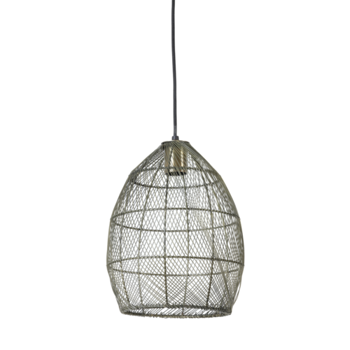 Hanglamp Olivette antiek brons Medium